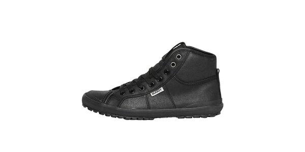Dámské černé kotníkové boty Buggy