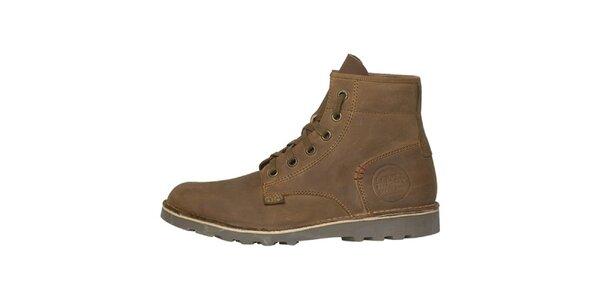 Pánské světle hnědé vysoké boty Buggy