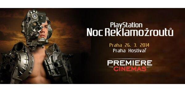 Exklusivní Noc reklamožroutů v Premiere Cinemas Praha Hostivař