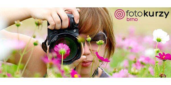4 různě zaměřené jednodenní fotokurzy v ateliéru