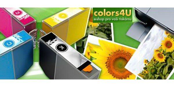 Kompatibilní cartridge pro tiskárny Epson včetně dopravy