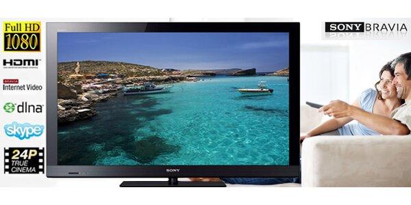 LCD televizor Sony Bravia. Úhlopříčka 102 cm!