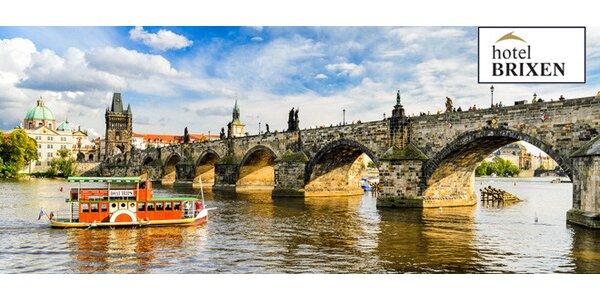 Romantika pro dva se snídaní v centru Prahy