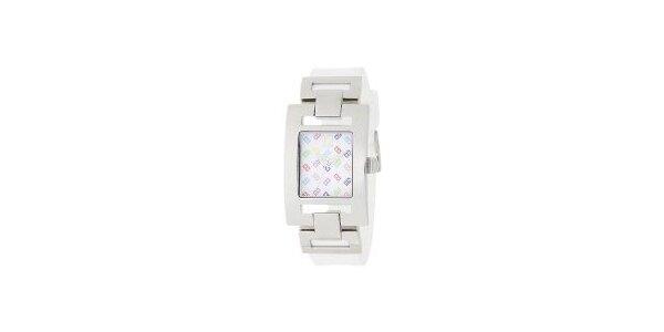 Dámské ocelové hodinky Tommy Hilfiger s barevným ciferníkem