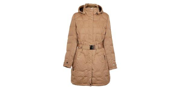 Dámský oříškově hnědý péřový kabát Northland