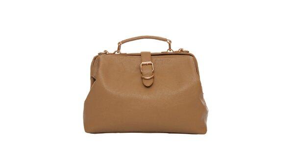 Dámská béžová kabelka přes rameno Tantra 860406dead9
