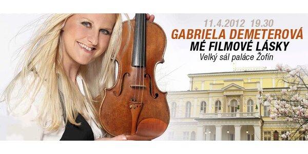 Koncert Gabriely Demeterové na Žofíně