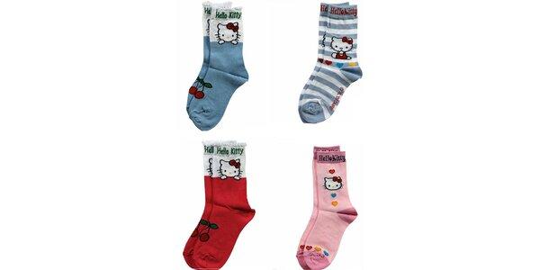 Dětské ponožky Hello Kitty 4 ks