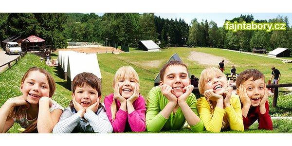 Letní dětské tábory s různým zaměřením