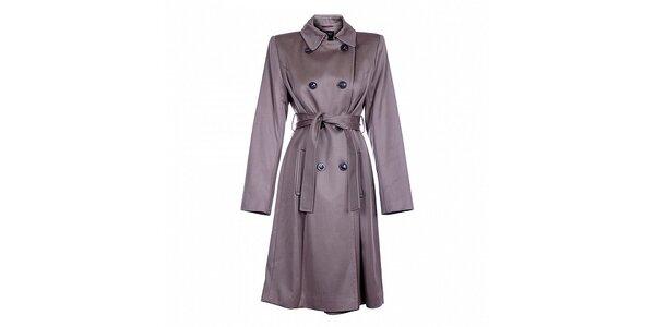 Dámský béžový zimní kabát Pietro Filipi