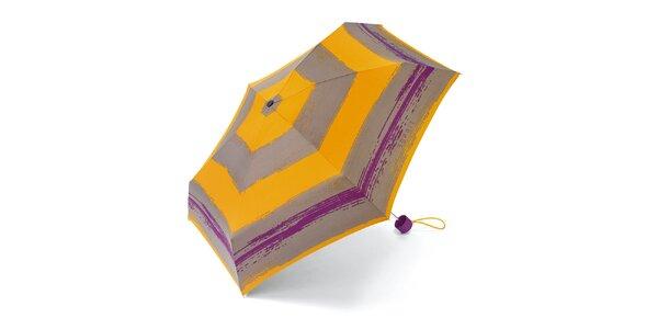 Pruhovaný skládací deštník Esprit