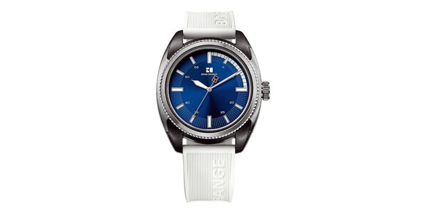 Pánské hodinky s modrým ciferníkem Hugo Boss Orange