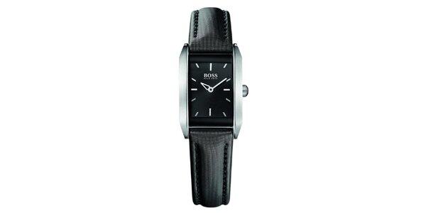 Dámské černé analogové hodinky Hugo Boss