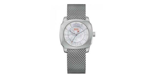 Dámské ocelové analogové hodinky Hugo Boss Orange
