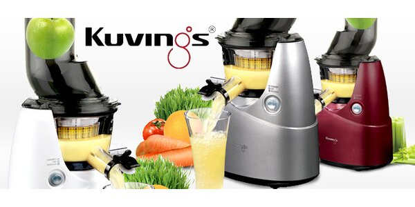Kuvings Whole Slow Juicer – odšťavňujte jako o život