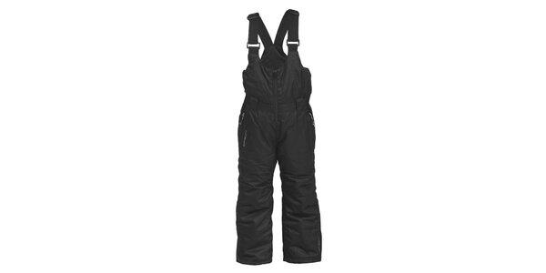 Dětské černé lyžařské kalhoty Envy