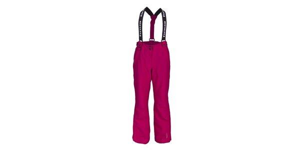 Dětské růžové lyžařské kalhoty Envy