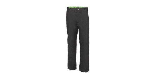 Dětské černé zimní zateplené kalhoty Envy