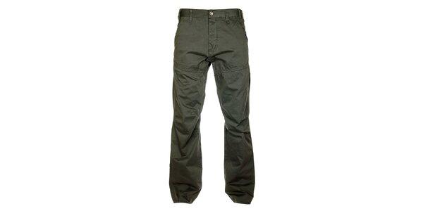 Pánské šedomodré kalhoty Freesoul