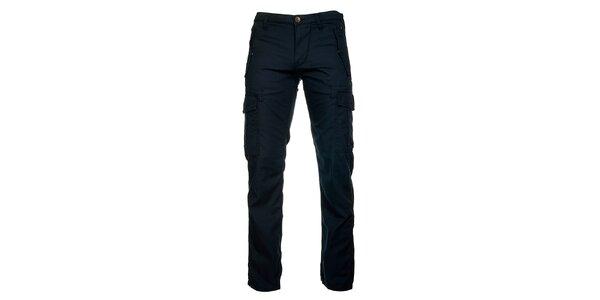 Pánské kalhoty v tmavě modré barvě Freesoul