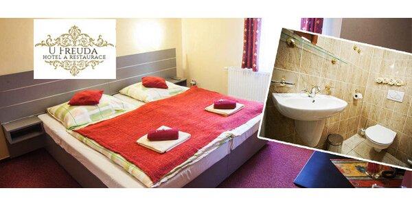 Pobyt v hotelu U Freuda v Příboře v Beskydském kraji