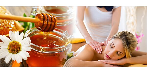 Jarní medová detoxikační masáž