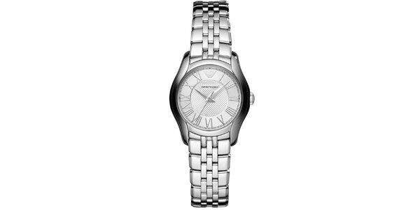 Dámské stříbrné hodinky Emporio Armani