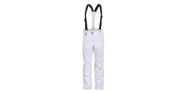 Dámské bílé lyžařské kalhoty Envy - prodloužená délka