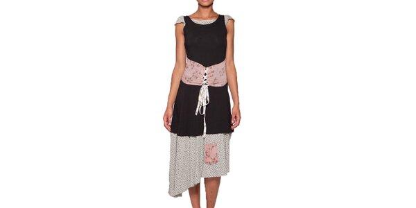 Dámské dlouhé šaty se šněrovačkou Ian Mosh