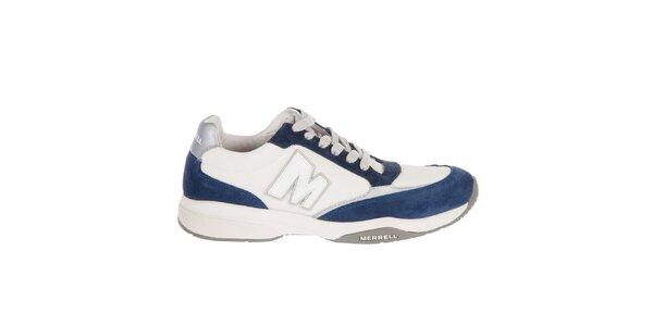 Pánské bílo-modré tenisky Merrell