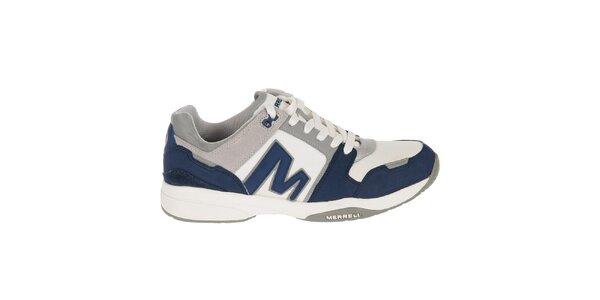 Pánské modro-bílé sportovní tenisky Merrell