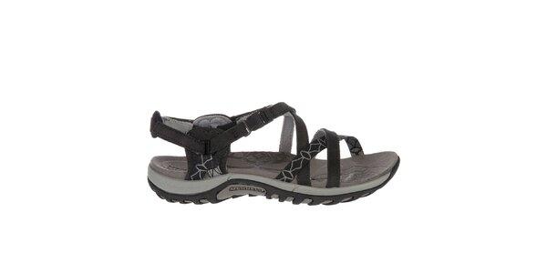 Dámské černé sandály Merrell