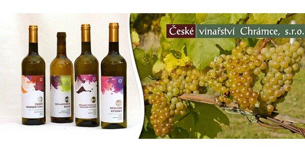Výběr 6 košer vín z Českého vinařství Chrámce