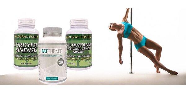 Vitamíny a účinné spalovače tuků