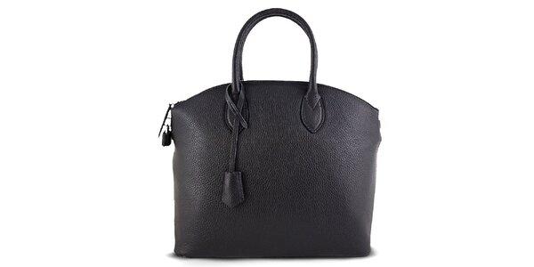 Dámská kufříková černá kabelka Roberto Buono