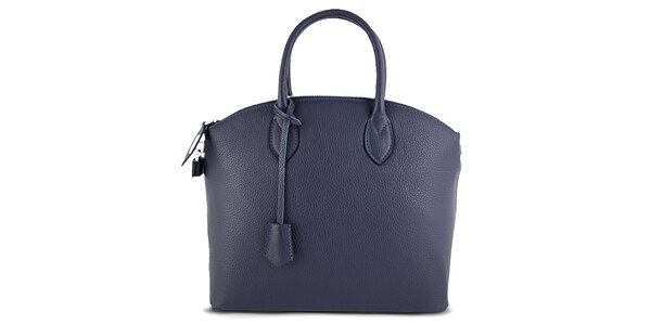 Dámská kufříková modrá kabelka Roberto Buono