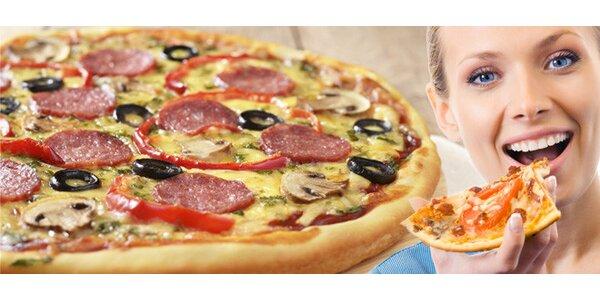 MAXI pizza dle výběru