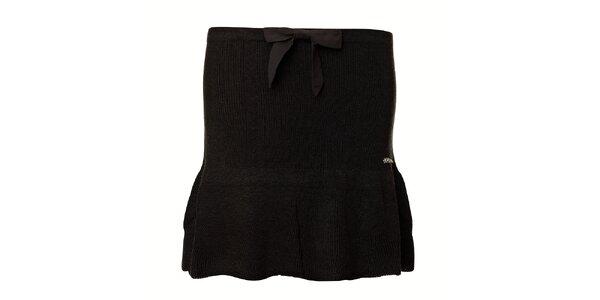 Dámská černá strečová mini sukně Vive Maria