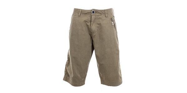 Pánské pískové kraťasy Exe Jeans s kapsou na zip