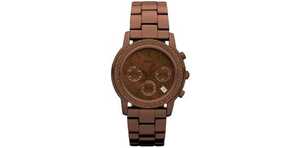 Dámské kruhové hodinky DKNY