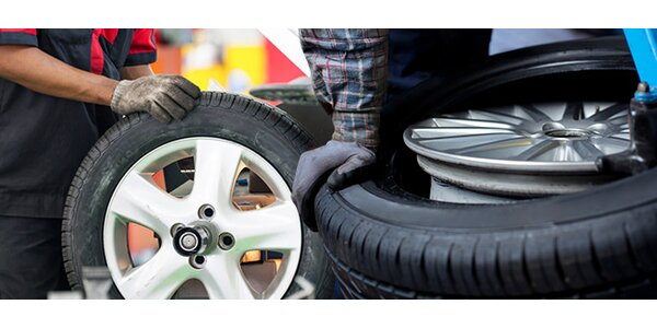 Přezutí pneu či výměna kol pro osobní auta