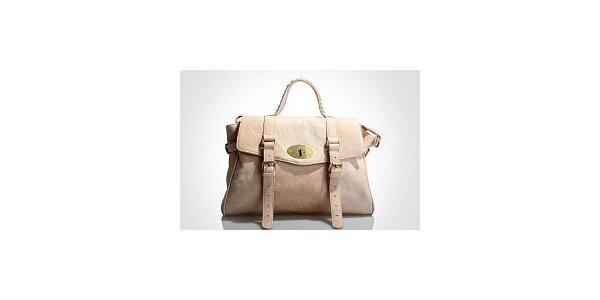 Dámská starorůžová kabelka Belle & Bloom s ozdobnými pásky