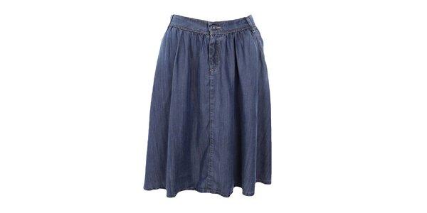Dámská dlouhá džínová sukně Gas