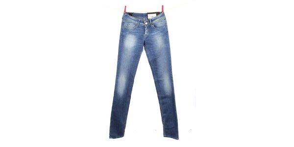 Dámské modré šisované džíny Gas