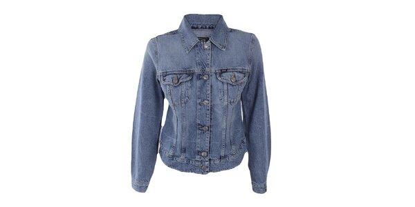 Dámská modrá džínová bunda Gas