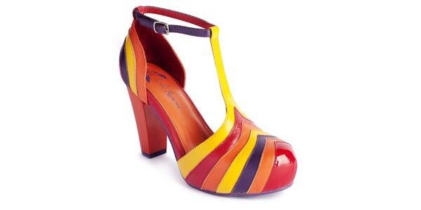 Dámské barevné botičky Lola Ramona