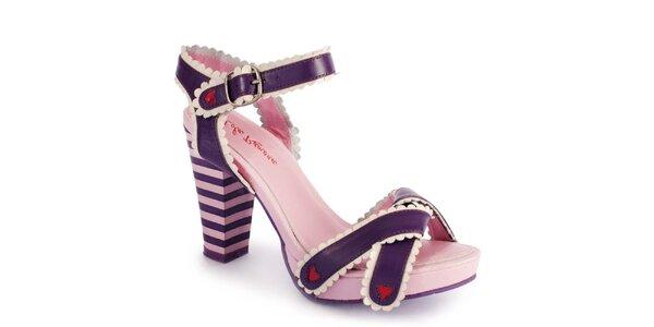 Dámské růžové střevíčky Lola Ramona