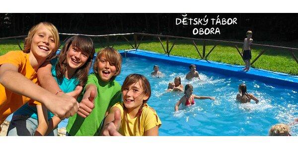Letní dětský tábor s nabitým programem