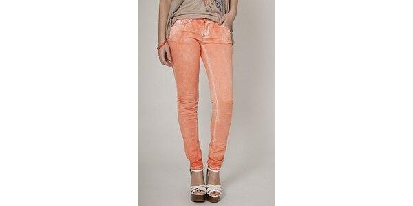 Dámské meruňkové plísňové džíny Mell
