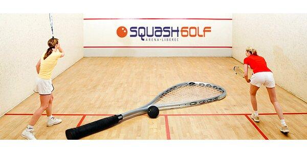 Hodina squashe za super ceny - slevy pro studenty i dospělé